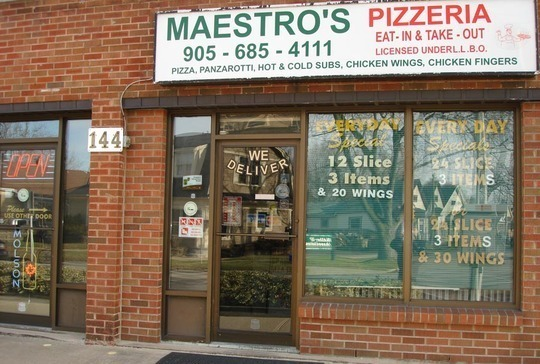 Maestro's Pizzeria - The Very Best Pizza in Town!